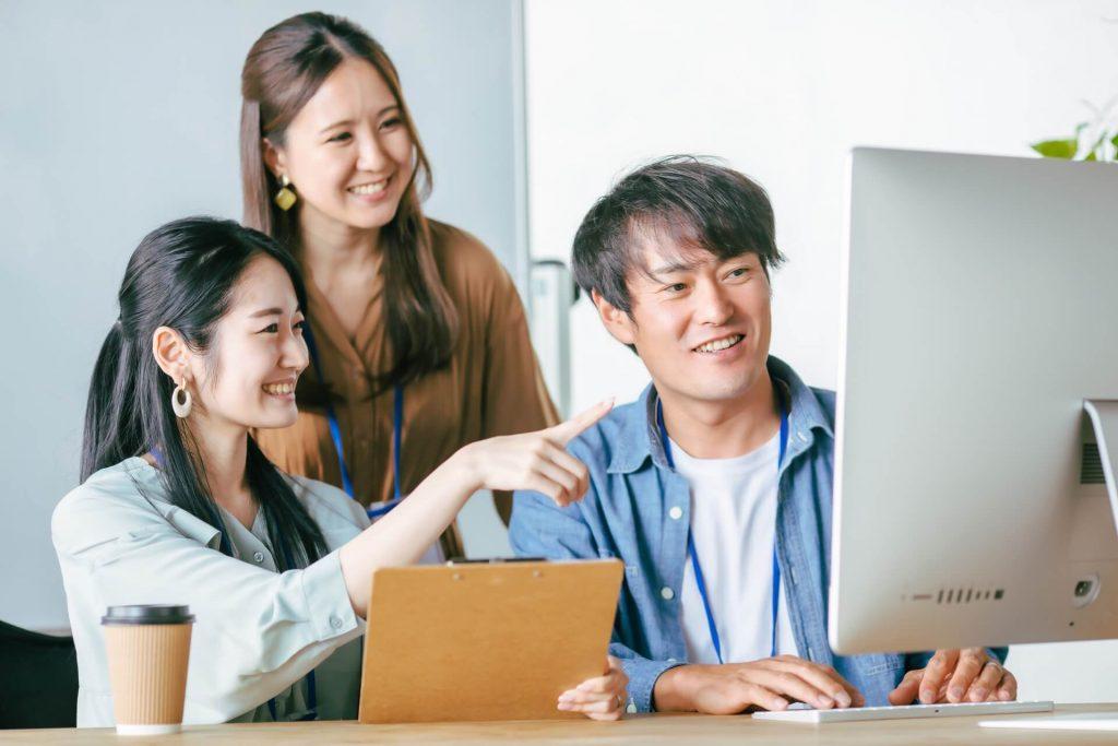 CEO溝口直下で、経験値もスキルも日々磨かれ、人として大きく成長できる。